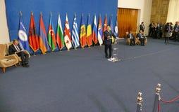 35a reunião do Conselho de Ministros dos Negócios Estrangeiros da organização do Estado-membro de cooperação econômica do Mar Neg Fotos de Stock