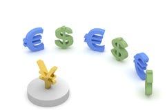 Reunião do dinheiro Imagem de Stock