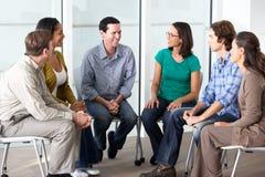 Reunião do grupo de apoio Fotos de Stock