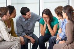 Reunião do grupo de apoio Imagem de Stock Royalty Free