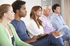 Reunião do grupo de apoio foto de stock
