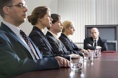 Reunião do material Fotos de Stock Royalty Free