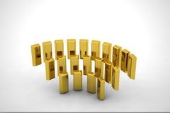 Reunião do ouro Imagem de Stock