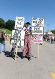 Reunião do partido de chá em St Louis Missouri Fotos de Stock