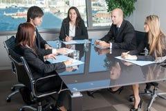Reunião do pessoal Foto de Stock Royalty Free