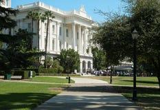 Reunião do protesto no Capitólio do estado de Califórnia Fotos de Stock