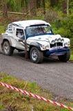 Reunião do Tomcat de land rover Foto de Stock