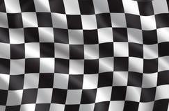Reunião do vetor ou bandeira das raças de carro ilustração do vetor