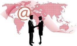Reunião do Web Imagens de Stock