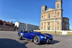 Reunião dos proprietários de carros retros Imagem de Stock Royalty Free