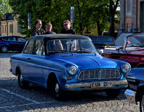 Reunião dos proprietários de carros retros Imagens de Stock