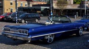 Reunião dos proprietários de carros retros Foto de Stock Royalty Free