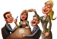 A reunião executiva Imagens de Stock