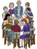 Reunião importante Fotografia de Stock Royalty Free