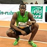 Reunião interna do atletismo Imagens de Stock Royalty Free