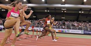 Reunião interna do atletismo Imagem de Stock Royalty Free