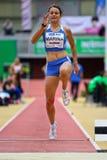 Reunião interna do atletismo de Linz Fotos de Stock Royalty Free