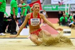Reunião interna do atletismo de Linz Fotografia de Stock Royalty Free