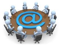 Reunião líquida Imagem de Stock