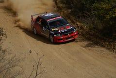 REUNIÃO MÉXICO 2007 DA CORONA DE WRC Foto de Stock Royalty Free