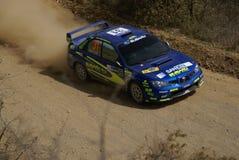 REUNIÃO MÉXICO 2007 DA CORONA DE WRC fotografia de stock royalty free