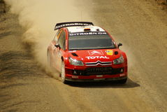 Reunião México da corona de WRC imagens de stock royalty free