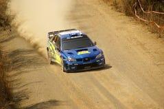 Reunião México da corona de WRC foto de stock