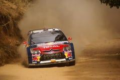 Reunião México da corona de WRC Dani 2010 Sordo Foto de Stock