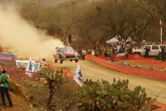 Reunião México da corona de WRC Loeb 2010 imagem de stock