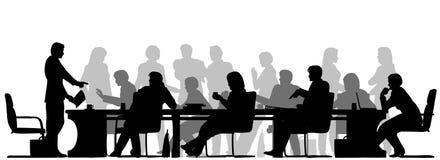 Reunião ocupada Imagem de Stock Royalty Free