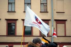 Reunião para eleições justas em Rússia Fotos de Stock Royalty Free