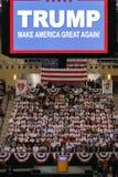 Reunião republicana da campanha de Donald Trump do candidato presidencial na arena & no casino sul do ponto em Las Vegas Foto de Stock
