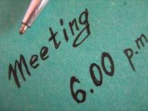 Reunión Fotos de archivo