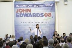 Reunión 78 de John Edwards foto de archivo libre de regalías