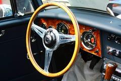 """Reunión antigua internacional """"Riga"""" 2013 retro del vehículo de motor Fotografía de archivo libre de regalías"""