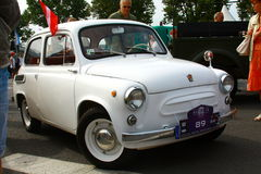 Reunión antigua internacional 'Riga' 2013 retro del vehículo de motor Foto de archivo