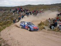 Reunión Córdoba la Argentina de WRC Foto de archivo libre de regalías