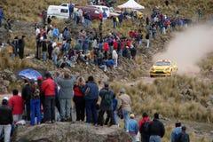 Reunión Córdoba la Argentina de WRC Imágenes de archivo libres de regalías