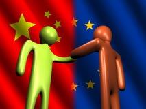 Reunión china de la UE Fotos de archivo