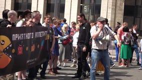 Reunión contra la corrupción organizada por Navalny