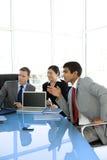 Reunión corporativa global Imagen de archivo libre de regalías