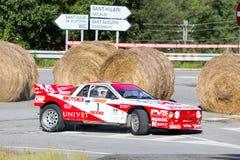 61 reunión Costa Brava. Campeón de FIA European Historic Sporting Rally Foto de archivo