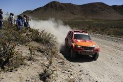 Reunión DAKAR la Argentina - Chile 2010 Imagen de archivo