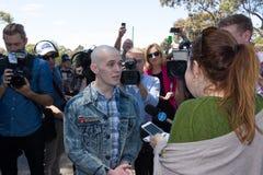 Reunión de Australia de la recuperación - Melton Fotos de archivo libres de regalías