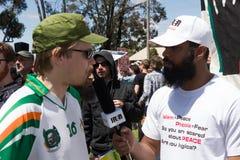 Reunión de Australia de la recuperación - Melton Foto de archivo