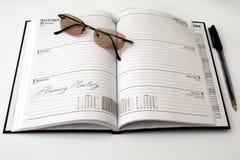Reunión de hojas de operación (planning) imágenes de archivo libres de regalías