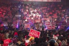 Reunión de la elección de Justin Trudeau Fotos de archivo