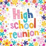 Reunión de la High School secundaria Foto de archivo