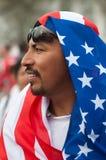 Reunión de la inmigración en Washington Imagenes de archivo