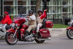 Reunión de la motocicleta Fotografía de archivo